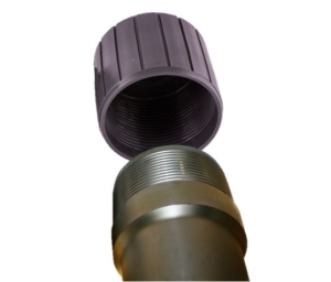 Casing Thread Protector on Pipe