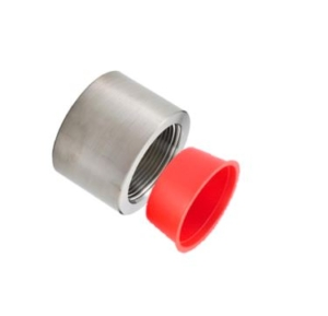 NPT Tapered Plastic Plug on Pipe
