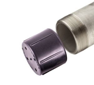 Tubing Thread Protectors on Drill Pipe